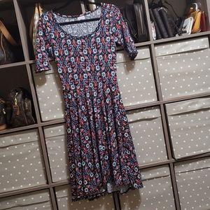 Lularoe EUC Nicole dress size S